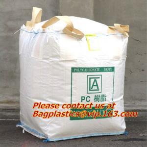 Quality 100% PP Woven FIBC Jumbo Bags for Sand, fibc bulk bag with four loop bags, big jumbo bag, Cheap china fibc big bags wholesale