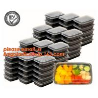 Quality Food grade plastic disposable plastic take away bento box with 4 compartment,Containers Plastic Leakproof Food Container wholesale