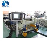 Quality Acrylic / Plastic Sheet Making Machine Coincal Twin Screw Extruder wholesale
