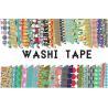 Buy cheap Colorful Custom Printed Masking Adhesive Tape , Waterproof Custom Make Washi from wholesalers