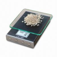 Quality Electronic Kitchen Scale with 5kg Capacity and Anodized Aluminum Alloy Body wholesale