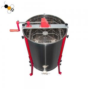 Quality Beekeeping 14.35kg 60cm Height Manual Honey Extractor wholesale