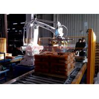 Quality High Strength Automatic Stacking Machine , Fast Packing Robotic Bag Palletizer wholesale