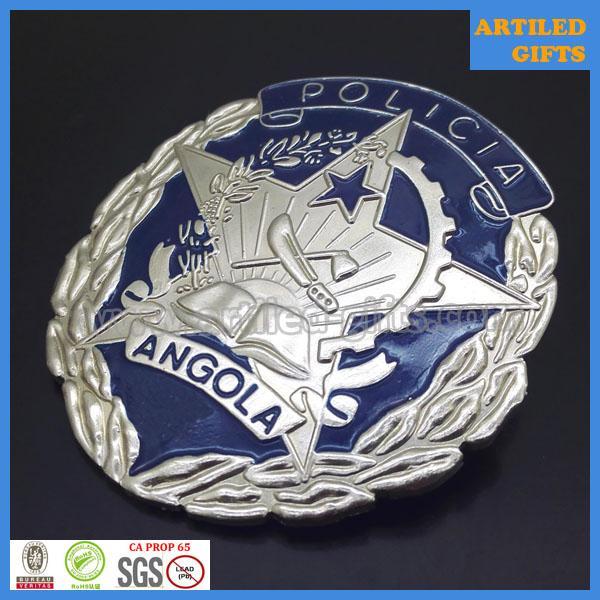 Angola policia badges 3