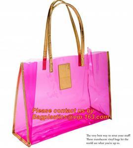 Quality moisture proof eva school bag pu shoulder bag flat handle plastic bag, eve handle bags, pvc handle bags, striated bag wi wholesale