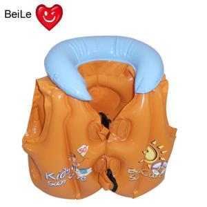 Quality PVC inflatable CHILDREN swimming vest wholesale