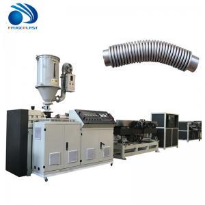 Quality 100kg/H Conical CPVC PVC Double Screw Extruder Soft Plasticization wholesale
