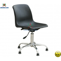 Quality PU Leather 100kgs Load Used Antistatic Lab ESD Chairs wholesale