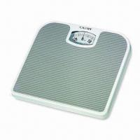 Quality Personal Bathroom Scale, Measures 24.3 x 26.8 x 4.2cm, with 130kg/300lbs Capacity wholesale