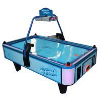 Quality Electronic Coin Operated Air Hockey Table Two Players Metal Acrylic Material wholesale