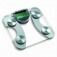 Quality Body Fat/Hydration Monitor Scale Storing Data for Eight Persons, with 96 x 53.5mm LCD wholesale