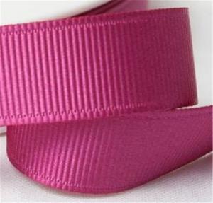 Quality Fancy 1 Inch Grosgrain Ribbon , High Durability Plain Grosgrain Ribbon wholesale