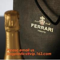 Quality luxury paper carrier bag wholesale paper bags with handle, decorative luxury recyclable fashion paper bags with your own wholesale