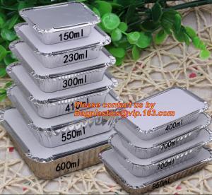 Quality disposable aluminium foil bowl food containers, Disposable Round Aluminum Foil Bowl & Food Container, aluminum foil baki wholesale