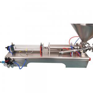 Quality 0.6MPa Single Head Liquid Filling Machine 1000ml Honey Bottle Filler wholesale