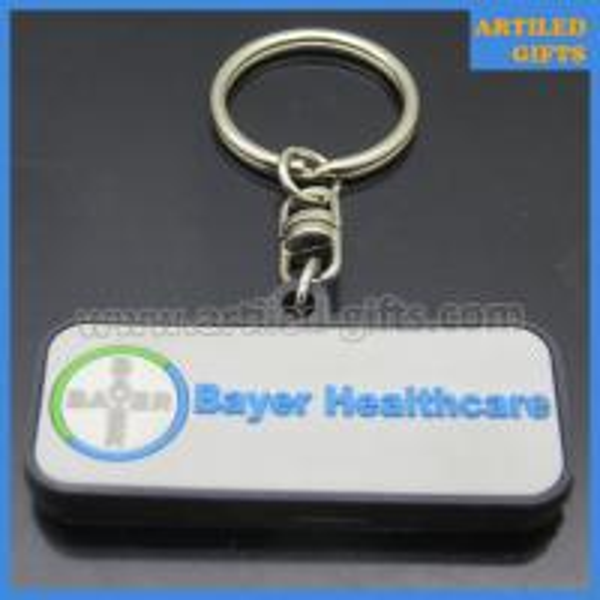 Bayer Company healthcare PVC keychains 2
