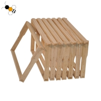 Quality Uncoated Pine Knot Free Bee Frame Langstroth Frame ODM wholesale