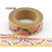 Quality Most Popular Lovely Design Custom Printing Various Color Pineapple Assorted Pattern Waterproof Washi Tape For Kids Craft wholesale