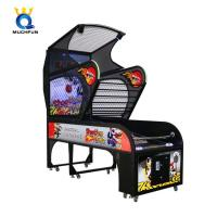 Quality 300W Deluxe Basketball Arcade Machine Two Mode Competitive And Single wholesale