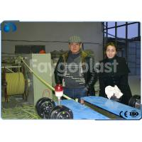 Quality 4~100mm PVC Single Wall Corrugated Pipe Making Machine Single / Double Screw Extruder wholesale