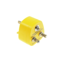 Quality Yellow ABS Antistatic 1M Resistor ESD Boding UK Plugs wholesale