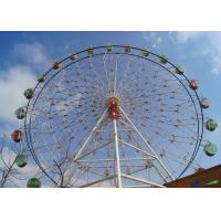 Quality Giant London Eye Ferris Wheel Customized LED Lights With Air Conditioner Cabin wholesale