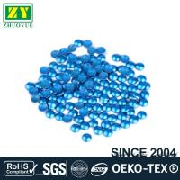 Quality Dresses Blue Dome Studs , Shiny Fixing Press Studs Environmentally Friendly wholesale