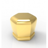 Buy cheap ISO 9001 Hanging Plating Zinc Alloy Perfume Bottle Cap from wholesalers