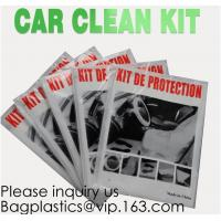 Quality Disposable Plastic Car Cover With Elastic Band Medium Size, Kit De Protection, Car Clean Kit, Car Protection Disposable wholesale