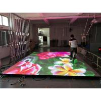 Quality Indoor Led Video Wall Rental P4.81 HD Full Color Led Dance Floor Display For Event wholesale