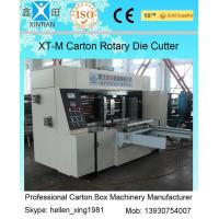 Quality Corrugated Colorful Carton Rotary Die-Cutting Machine For Die Cutting And Molding wholesale