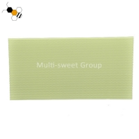Quality Green 42.5*21.2cm Food Grade Plastic Bee Foundation Sheets wholesale