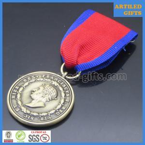 Quality Rec vtr sic et hier rex Franciscvs I Antique gold medals with ribbon brooch wholesale