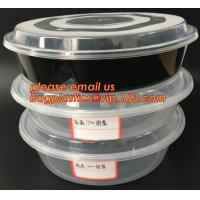 Quality Reusable Take Away Plastic Salad Bowl With Fork And Dressing box and Source Container,Disposable take away plastic salad wholesale