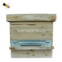 Quality New Zealand 509*409*185mm Water Resistant Beehive Nuc wholesale