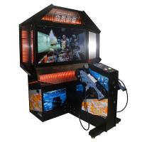 """Quality 300W Commercial Shooting Arcade Machine / Arcade Ticket Machine 55"""" HD Screen wholesale"""