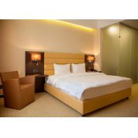 Quality Single Room Modern Hotel Bedroom Furniture , Hotel Guest Room Furniture wholesale