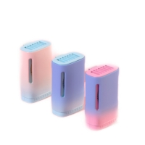 Quality 3 Gears Type Mini Portable Neck Fan C Recharge Mute Bladeless Neck Cooling Fan wholesale