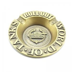 Quality L149.5mm European Style Antique Zinc Alloy Ashtray wholesale