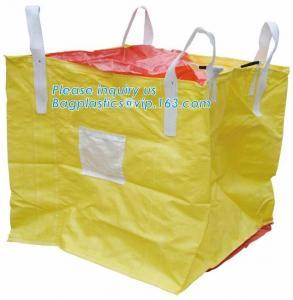 Quality Polypropylene Woven Plastic Jumbo Bag Pp Big Bag For Sand, Building Material,Jumbo Bag / FIBC Bulk wholesale