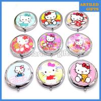 Hello Kitty stainless steel foldable makeup mirror 2