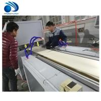 Quality High Speed Pe Pe Extruder Machine , Wood Floor Vc Profile Extrusion Line wholesale