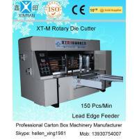 Quality Corrugated Cardboard Rotary Die-Cutting Machine For Packaging / Printing Industrial wholesale