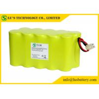 Buy cheap F7000mah NICD 12V Nickel Cadmium Battery Pack For LED Torch / Mining Light from wholesalers