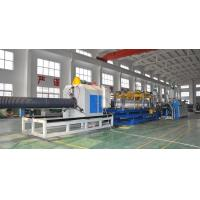 Quality HDPE/PP Double Wall Corrugated Pipe Production Line , Corrugated Pipe Production Equipment wholesale