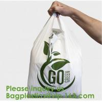Quality Corn Starch Compostable Bag Biodegradable Corn Starch PLA PBAT Fully Compostable Disposable Poo Bags, Sacks, Packaging wholesale