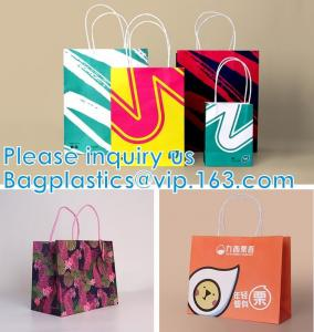Quality Fancy Design Black Paper Bag For Packaging, Luxury Custom Paper Carrier Bag, Gloss Laminated Luxury wholesale