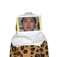 Quality Square Beekeeping Protective Clothing Metal Veil Beekeeper Hat wholesale