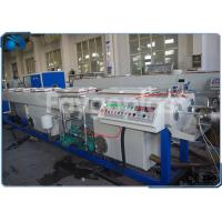 Quality PVC Electrical Conduit Pipe Making Machine With Dual Outlet Extrusion Twin Screw wholesale