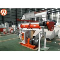 150kw Pellet Production Equipment , Stable Performance Farm Industry Feed Pellet Plant